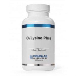 C/Lysine Plus 120c by Douglas Labs