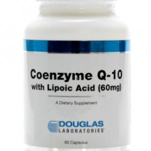 Coenzyme Q-10 with Lipoic Acid 60c by Douglas Laboratories
