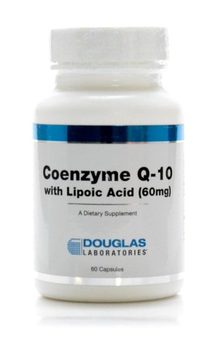 Coenzyme Q-10 with Lipoic Acid 60c by Douglas Laboratories