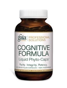 Cognitive Formula 60c by Gaia Herbs