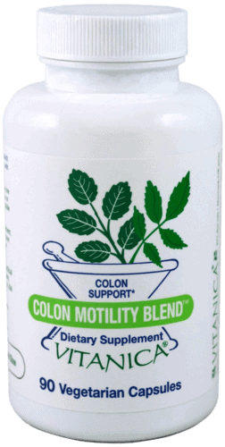 Colon Motility Blend 90c by Vitanica