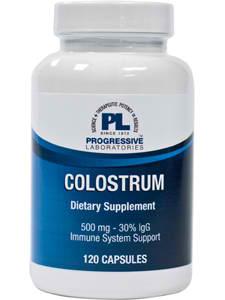 Colostrum 500mg 120c by Progressive Labs