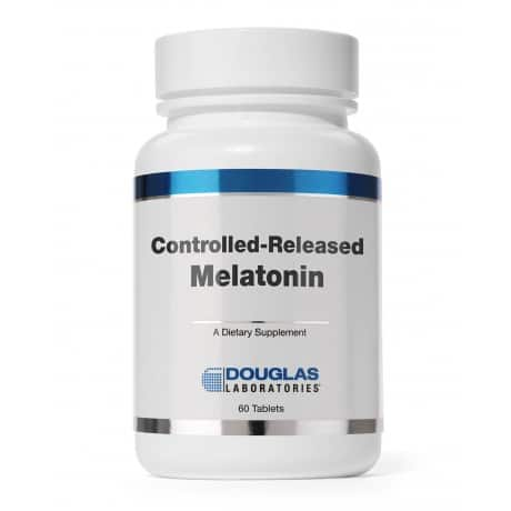 Controlled Release Melatonin 60t by Douglas Laboratories