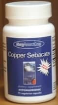 Copper Sebacate 75c by Allergy Research Group