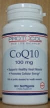 CoQ10 Absorb 100mg 90sg by Protocol