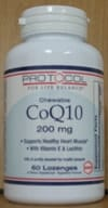 CoQ10 Absorb 200mg Lozenges 60ct by Protocol