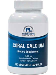 Coral Calcium 120c by Progressive Labs