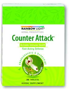 Counter Attack  30 tabs by Rainbow Light Nutrition