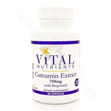 Curcumin Extract 700mg VEG 60c by Vital Nutrients