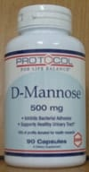 D-Mannose Urinary 500mg 90c by Protocol