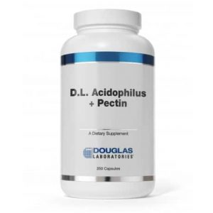 D.L. Acidophilus + Pectin 250c by Douglas Laboratories