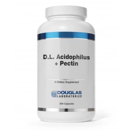 D.L. Acidophilus + Pectin 250c by Douglas Laboratories
