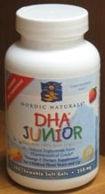 DHA Junior 360sg by Nordic Naturals