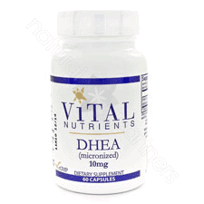 DHEA 10mg 60c by Vital Nutrients