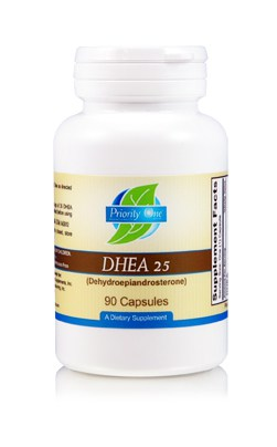 DHEA 25mg 90c by Priority One