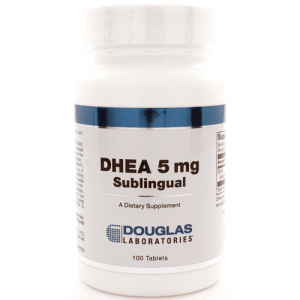 DHEA 5mg Sublingual 100t by Douglas Laboratories