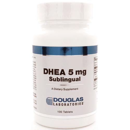 DHEA 5mg Sublingual 100t by Douglas Laboratories