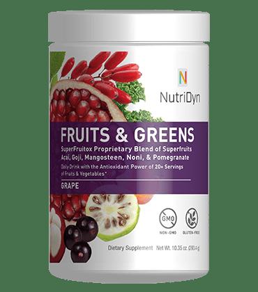 NutriDyn Fruits and Greens Berry Flavor by Nutri-Dyn