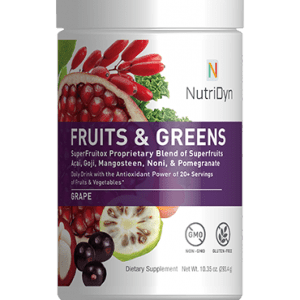 NutriDyn Fruits and Greens GLUTEN FREE Strawberry Kiwi by Nutri-Dyn