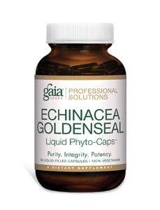 Echinacea Goldenseal 60c by Gaia Herbs