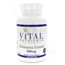 Echinacea SE 4% 500mg 60vcaps by Vital Nutrients