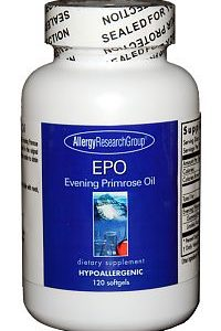 EPO-Evening Primrose Oil 120sg by Allergy Research Group