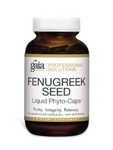 Fenugreek Seed 60c by Gaia Herbs