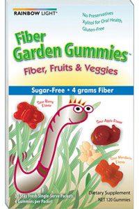 Fiber Garden Gummies 30pk by Rainbow Light Nutrition