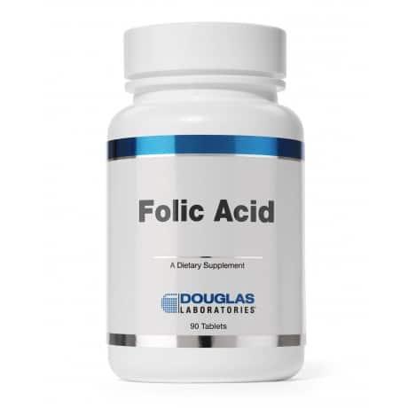 Folic Acid 400mcg 90t by Douglas Laboratories