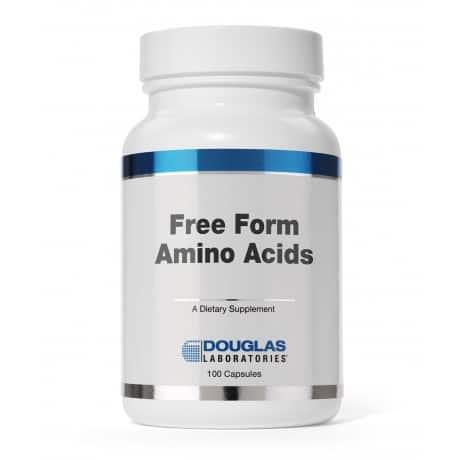 Free Form Amino Caps 100c by Douglas Laboratories