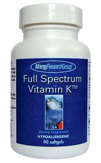Full Spectrum Vitamin K 90sg by Allergy Research Group