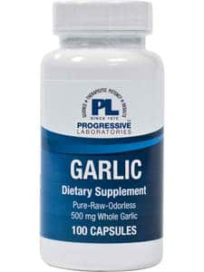 Garlic 500mg 100c by Progressive Labs