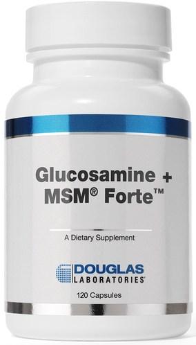 Glucosamine + MSM Forte 120c by Douglas Laboratories
