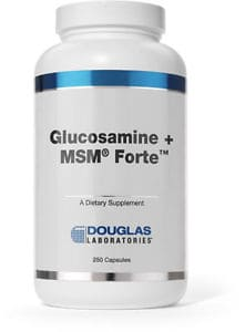 Glucosamine + MSM Forte 250c by Douglas Laboratories