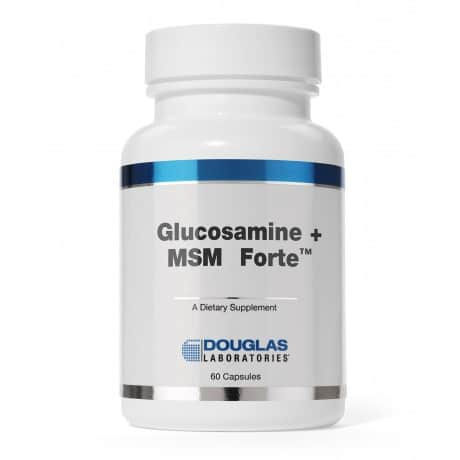 Glucosamine + MSM Forte 60c by Douglas Laboratories