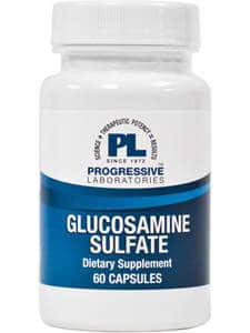Glucosamine Sulfate 500mg 60c by Progressive Labs