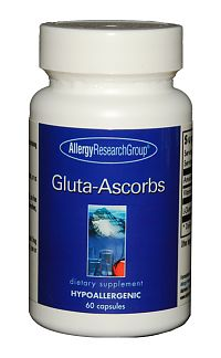 Gluta-Ascorbs 200mg 60c by Allergy Research Group