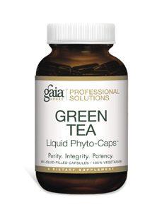 Green Tea 60c by Gaia Herbs