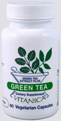 Green Tea 60c by Vitanica