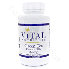 Green Tea Extract 120c by Vital Nutrients