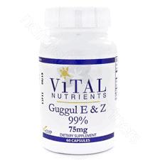 Guggul E & Z 99% 60c by Vital Nutrients