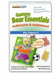 Gummy Bear Essential Multi/ Mineral 30pk by Rainbow Light Nutrition