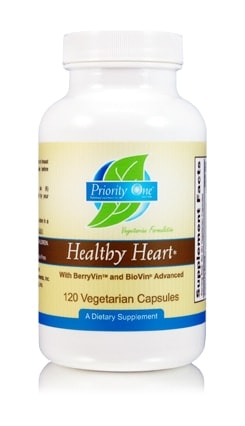 Healthy Heart w BioVin 120c by Priority One