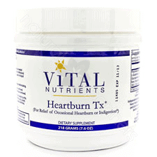 Heartburn TX Powder 218g by Vital Nutrients