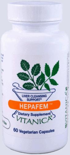 HepaFem 60c by Vitanica