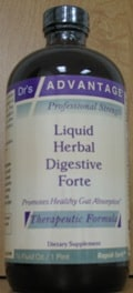 Herbal Digestive Forte 16oz  by Dr's Advantage.