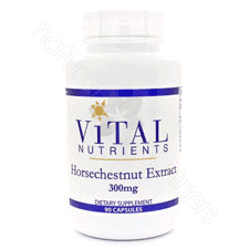 Horse Chestnut SE 20% 300mg 90c by Vital Nutrients