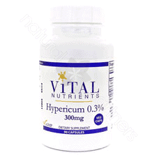 Hypericum Ext. 0.3% 300mg 90c by Vital Nutrients