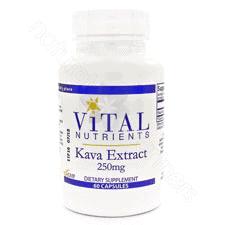 Kava Kava 30% 250mg 60c by Vital Nutrients