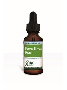 Kava Kava Low Alcohol Extract 2oz by Gaia Herbs